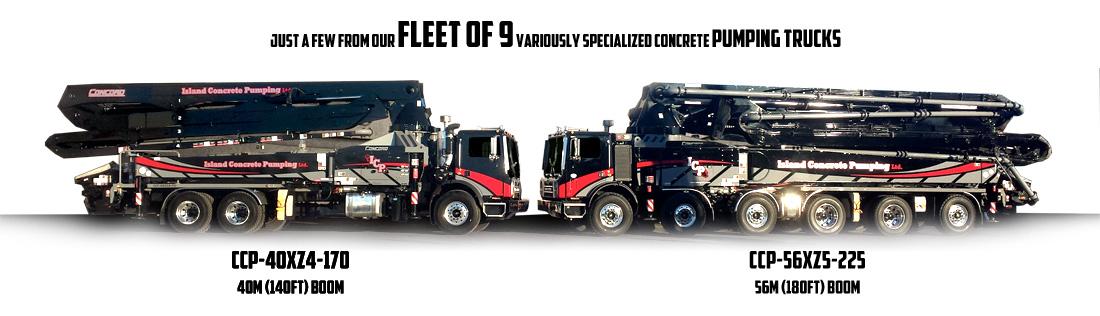 Island Concrete Pumping Ltd - Concrete Pump Trucks on